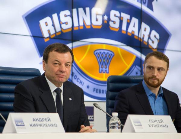 «Матч молодых звезд». Пресс-конференция в ТАСС