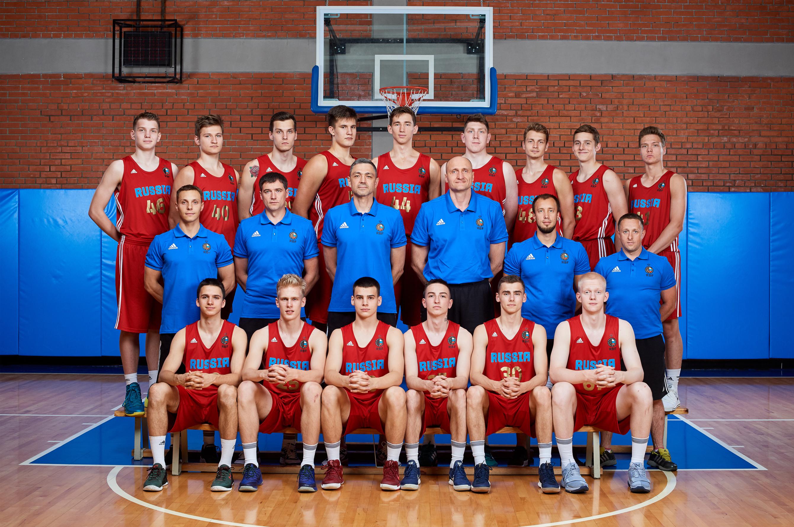 Сборная России U18 отправилась на чемпионат Европы