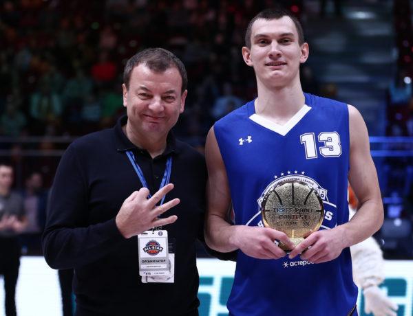 Игорь Вольхин — победитель конкурса трехочковых!
