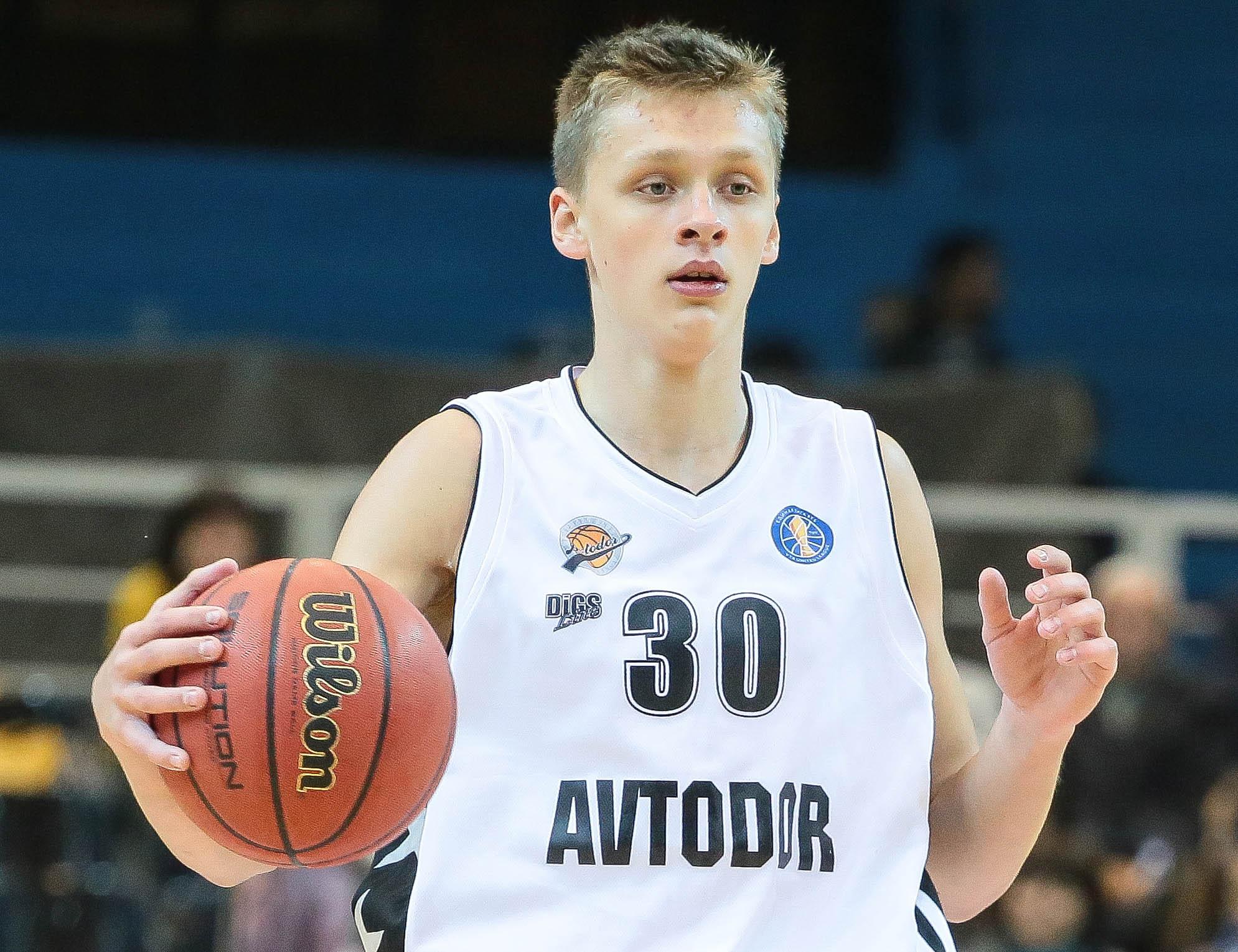 Форвард «Автодора-2» Никита Михайловский вызван в лагерь НБА