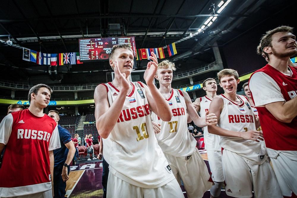 Сборная России U18 заняла 4-е место на Чемпионате Европы